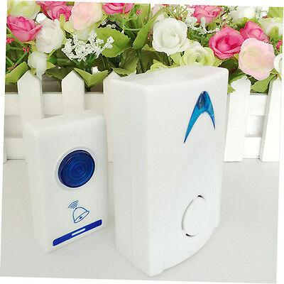 LED Wireless Chime Door Bell Doorbell & Wireles Remote control 32 Tune Songs EX