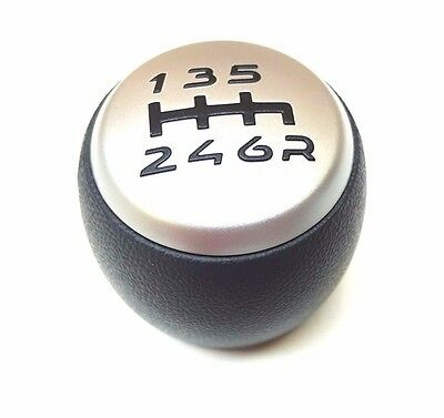 Fiat Stilo (2006+) 6 Speed Gear Knob - 735428219 New & Genuine Fiat
