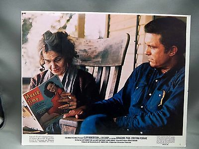 J.W. Coop Lobby Card Cliff Robertson 1971 Columbia Pictures Movie Advertising