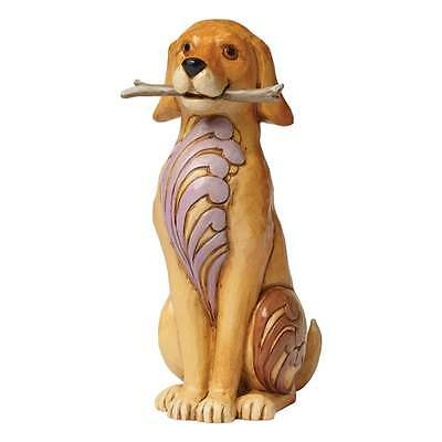 Jim Shore Heartwood Creek Brewster Dog With Stick Figurine New Boxed 4045271
