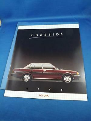 1988 Toyota Cressida Sales Brochure Car Executive Features Specifications