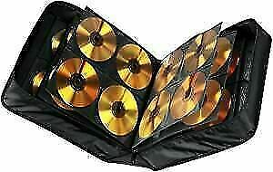 304 Space CD DVD Blu Ray Disc Carry Case Holder Bag Wallet Protector Storage