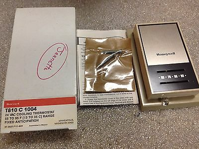 Honeywell T810 c 1004 Cooling Thermostat T810C1004 24 VAC