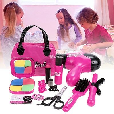 Fashion Children Kids Girls Pretend Play Makeup Kit Toys Gift DZ88