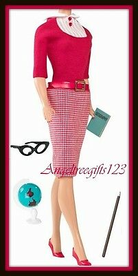 Barbie Reproduction student teacher fashion new fits silkstone royalty complete