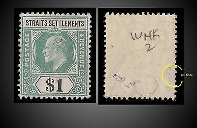 1904 Straits Settlements King Edward Vii Value 1$ Mint With Gum Hinged - Lh