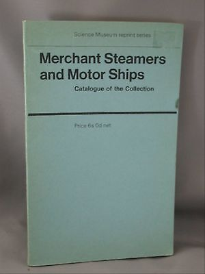 1949 Science Museum Book Collections Illustrating Merchant Steamers Motor-Ships
