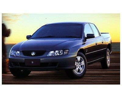 2004 Holden Crewman S Factory Photo ca5976