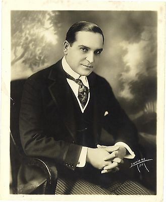 *EARLE WILLIAMS (c.1918) Vitagraph Silent Film Star Publicity Photo by Lumiere