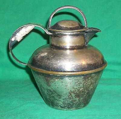 1890 Epns Silver Plate Lawrence Lbs Smith Boston Ma Old Water Jug Pitcher Caraf