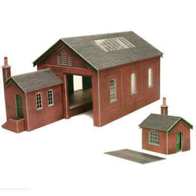 Metcalfe 00/H0 scale Goods Shed #PO232