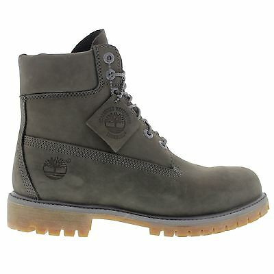 Timberland 6 Inch Premium Grey Mens Boots