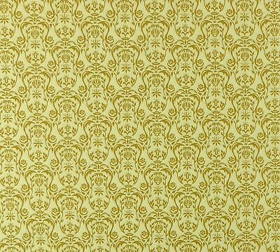 Dolls House Regency Gold Urn  Miniature Print Wallpaper 1:12 Scale