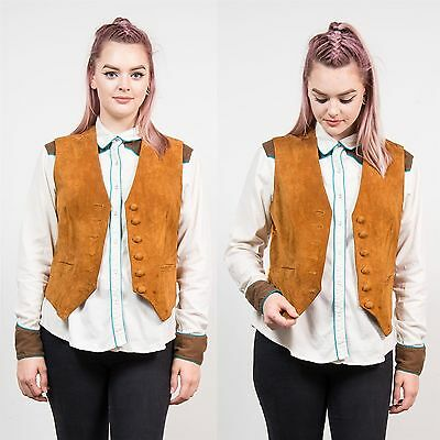 womens vintage 70 39 s style boho festival waistcoat vest gilet hippie style 12 14 eur 16 99. Black Bedroom Furniture Sets. Home Design Ideas