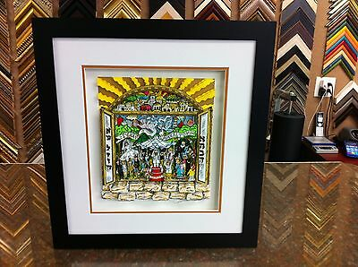 "Charles Fazzino"" A Wedding To Remember "" 3-D Art Deluxe Signed & Numbered."