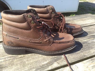 a638d1179d6 MEN'S 9 ROPER casual lace up ankle boots brown leather
