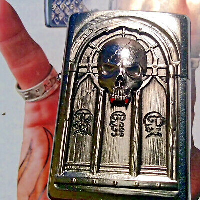 Zippo Rip (Rest In Peice) Emblem Lighter,date Code A-15-Collectable New In Box!!