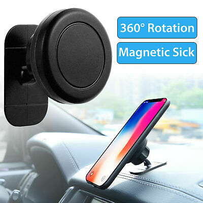 360° Universal Stick On Dashboard Magnetic Car Mount Holder Cradle for phone S8