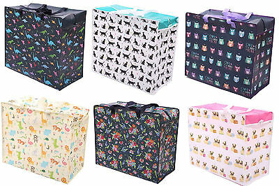 Extra Large Jumbo Laundry Shopping Bag Childrens Toy Storage Reusable Bags