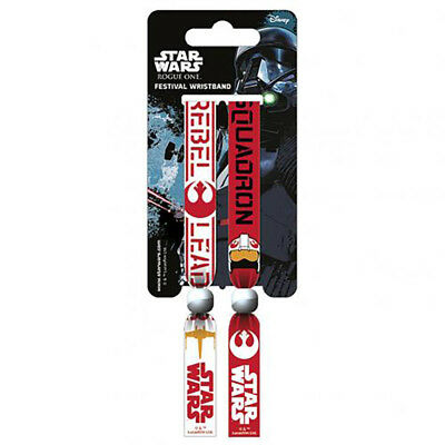 Star Wars Rogue One - Festival Wristbands (REBEL) - GIFT