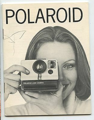 Old Vintage Polaroid Land Camera Instruction Booklet
