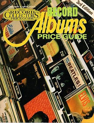 RECORD ALBUM PRICE GUIDE 3rd edition 1980 USA Softcover TOP