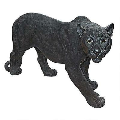 Large Panther On the Prowl Garden Statue Sculpture Home Yard Decor