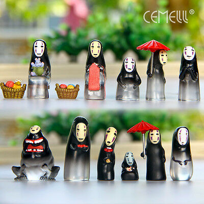Spirited Away No-Face Resin Figure No Face Man Figures Doll Gift