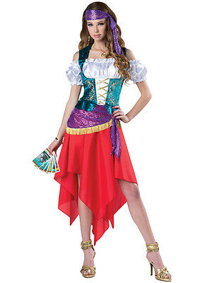 Mystical Gypsy Fortune Teller Adult Womens Dress Costume NEW Circus