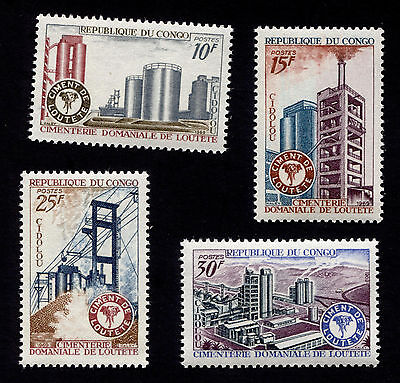 OPC 1969 Congo Loutete Cement Works Set Sc#193-6 MNH