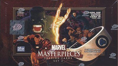 Upper Deck Marvel Masterpieces Series 2 Box