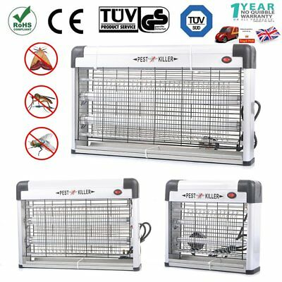 Industrial 30W 20W 12W Electrical Insect Bug Fly Mosquito Killer Zapper 2Uv Tube
