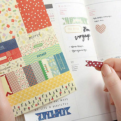 8Pcs Cute Forest Story Paper Stickers Scrapbook Calendar Diary Planner Decor
