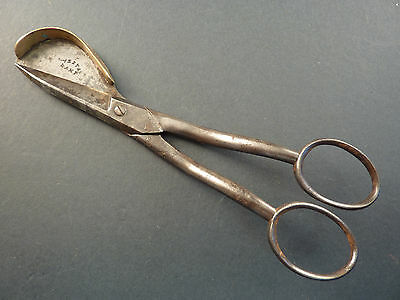 Pair Of Steel And Brass Candlewick Trimmers
