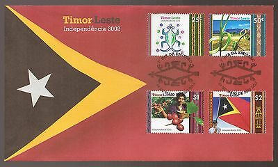 2002 TIMOR LESTE Independence FDC