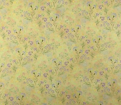 Dolls House Meadow Flowers Miniature Floral Print 1:12 Scale Wallpaper