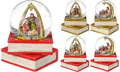 Mini Christmas Nativity Scene Snow Globe Nativity Snowglobe Christmas Decoration