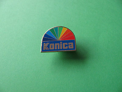 Konica Multi Colour Pin Badge, Photography interest.