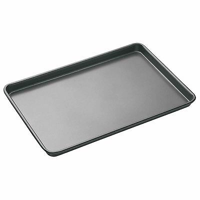 Masterclass Non Stick 39cm x 27cm Large Metal Oven Baking Tray KCMCHB3