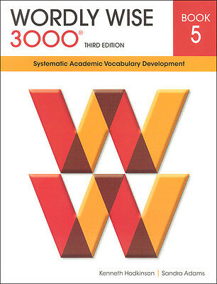 Wordly Wise 3000 Grade 5 Student NEW  *3rd edition*