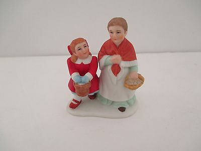 Lefton Colonial Village Figurines New Old Stock 1997 11280 Mary & Annabelle B15