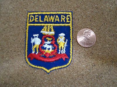 Vintage Delaware State Patch New Old Stock