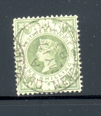 Great Britain 122 used w/sock-on-nose Quayside Newcastle-on-Tyne cds - Victoria