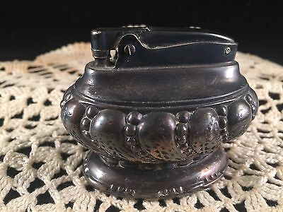 Antique/vintage Ronson Silver Plate Table Lighter
