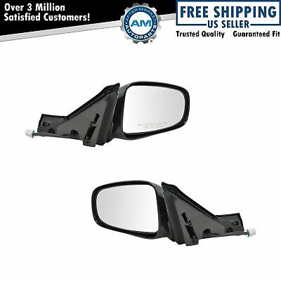 Power Side View Mirrors Left & Right Pair Set NEW for 00-05 Chevy Impala