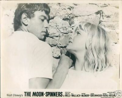 Hayley Mills Peter Mcenery The Moonspinners Lobby Card