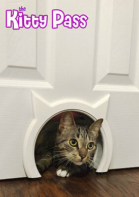 Cat door The Kitty Pass Interior Cat Door, Pet Door Hidden Litter Box