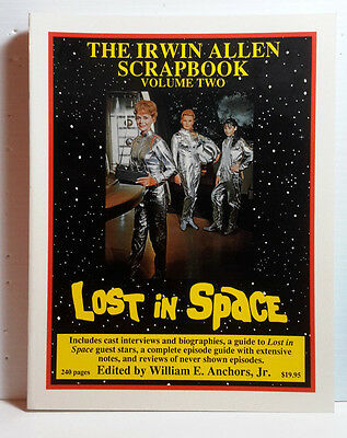 1992 Irwin Allen Scrapbook Vol 2-Lost in Space/Land of Giants-240 Pages-FREE S&H