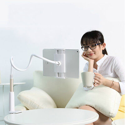 360° Flexible Arm Long Lazy Bed Desktop Tablet Mount Holder Stand For iPad 2 3 4