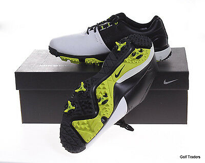 Nike Air Rival Iii Men's Golf Shoes Size 8Us Wide - Black/white - New #d1660